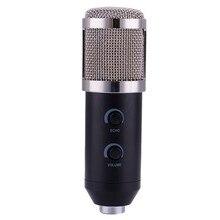 BM100 Procesamiento de Audio Con Cable de Micrófono de Condensador de Grabación de Sonido USB con Soporte para Conferencias de Vídeo en Red de Grabación en Red