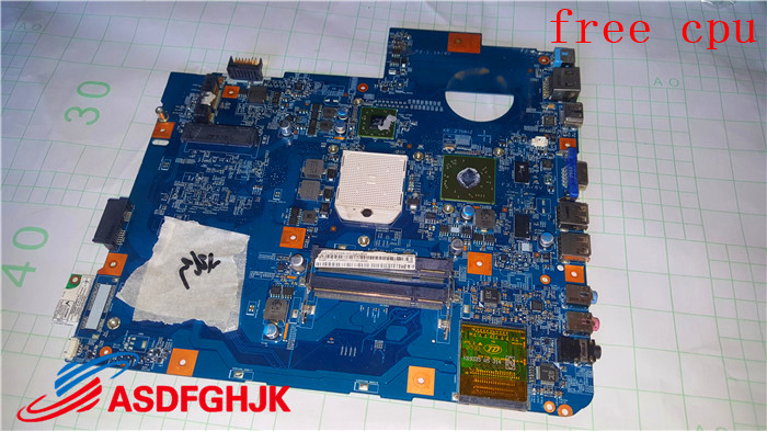 Galleria fotografica TRASPORTO CPU Per <font><b>Acer</b></font> Aspire 5542 5542g Scheda Madre Del Computer Portatile MS2277 MBPHP01001 MB. PHP01.001 SJV50-TR 48.4FN01.011 100% TESED OK