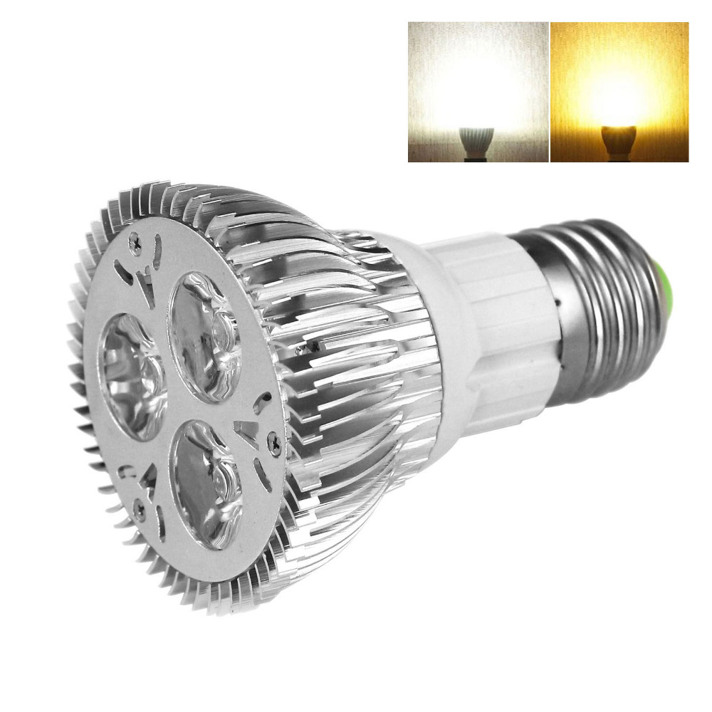 Led Spotlight Warm White: Dimmable Par20 LED Spotlight Bulb Warm White Cold White