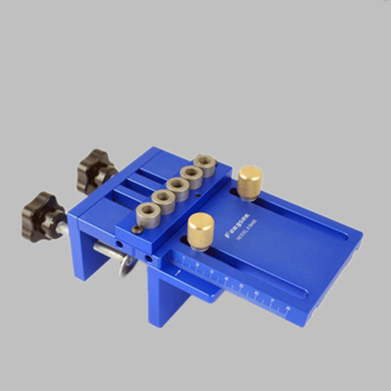 Aluminum Alloy Carpenter Guide Locator Drilling Kit Three-in-one Locator Woodworking Inclined Hole Guide Set Oblique With Box aluminum alloy t general pervez musharraf held hole hole crossed feet carpenter scriber