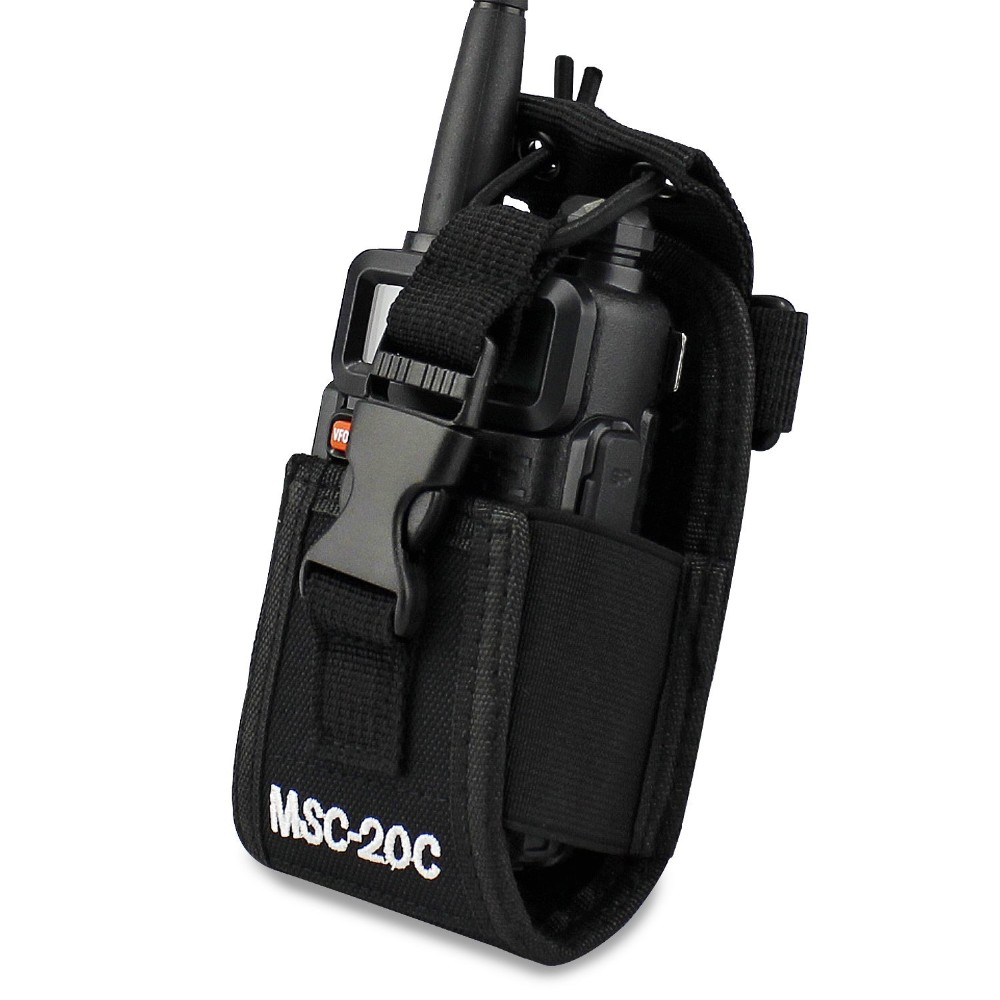 Abbree MSC-20C Multi-Fonction Radio Bidirectionnelle Titulaire Holster Carry Case Pour Yaesu Icom Motorola TYT baofeng UV-5R UV-82 BF-888S