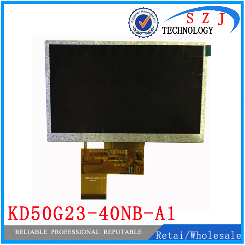 New 5 inch LCD Display For GPS Tape tp kd50g23-40nb-a1-revc gps LCD screen kd50g23-40nb-a1 Sensor Replacement Free ShippingNew 5 inch LCD Display For GPS Tape tp kd50g23-40nb-a1-revc gps LCD screen kd50g23-40nb-a1 Sensor Replacement Free Shipping