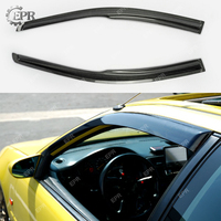 Карбоновый скоростной козырек для Honda Civic 8th Gen FG1 FG2 Coupe трафарет для бровей из углеродного волокна (2 шт) (2006 2011)