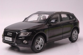 1:18 Diecast Model for Audi Q5 2013 Black SUV Alloy Toy Car Miniature Collection Gifts image