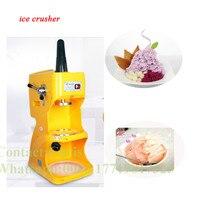 Moda domu maszyna do lodu/elektryczny rozdrabniacz do lodu/ice shaver darmowa wysyłka przez DHL w Maszyny do lodów od AGD na