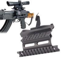 Tactical AK Rail Side Scope Mount Quick Detachable AK Double Rail Side Mount Detach Rail AK