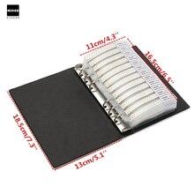 1PCสีดำ 0603 SMDหนังสือตัวอย่าง 170 ValuesX50pcs = 8500Pcs 1% ตัวต้านทานResistorชุดตัวต้านทานตัวอย่างขายร้อน