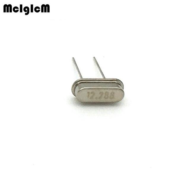1000pcs hc 49s 12.288MHz 20ppm 20pF quartz resonator