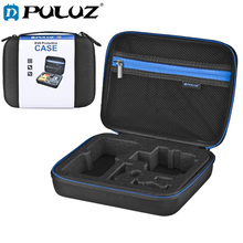 PULUZ Waterproof Carry GoPro Case Travel For HERO6 /5 /4 Session/4 /3+/3/2/1/Puluz U6000 /Other Sport Cameras Acc