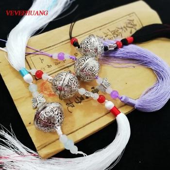 VEVEFHUANG Wei Wuxian Klar herz glocke Cosplay Großmeister von Dämonische Anbau Cosplay Headwear requisiten Mo Dao Zu Shi Halloween
