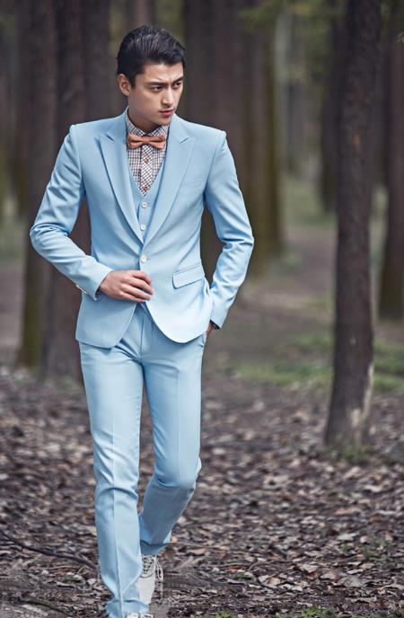 Vestito Matrimonio Uomo Azzurro : Disegni costume s rosso del uomo homme terno formale blu ultimi
