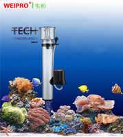 Miniskimmer colgante interno para acuario marino, filtro de proteína para skimmer, WEIPRO SA-2030/2031/2032/2033