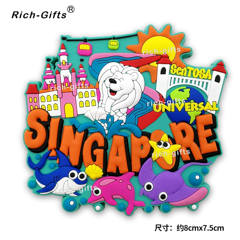 Singapore Souvenirs Fridge Magnets Travel Tourism Souvenir Gift