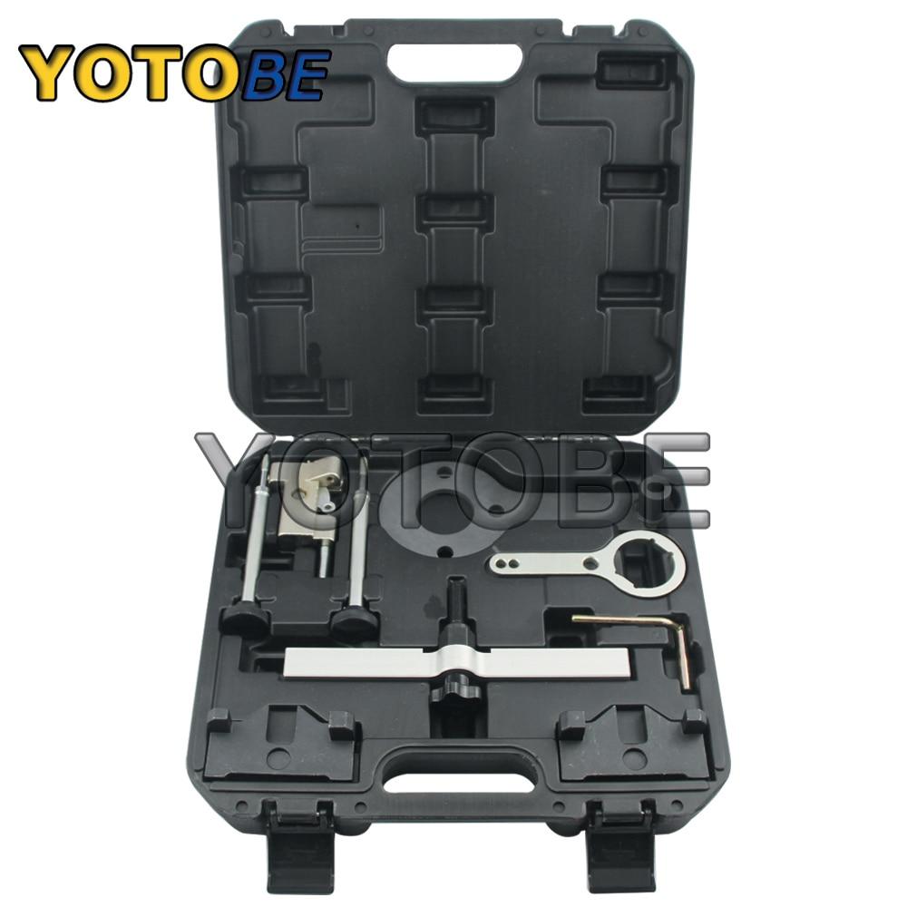 Engine Timing Locking Tool Kit for BMW V8 N63 N74 X5 X6 Drive 750I 760I Camshaft Tensioner Locking Tool