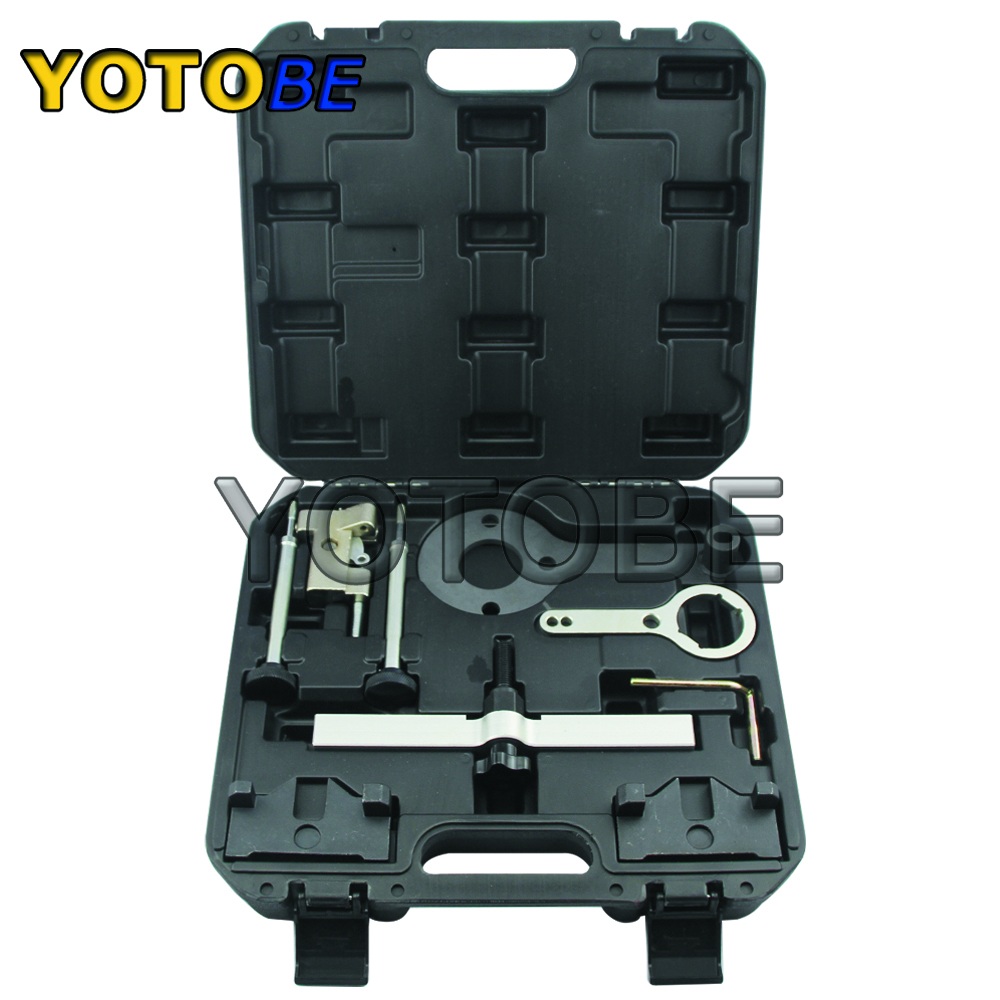 Engine Timing Locking Tool Kit FOR BMW N63 N74 X5 X6 Drive 750I 760I With Timing Chain Camshaft Tensioner Locking Tool