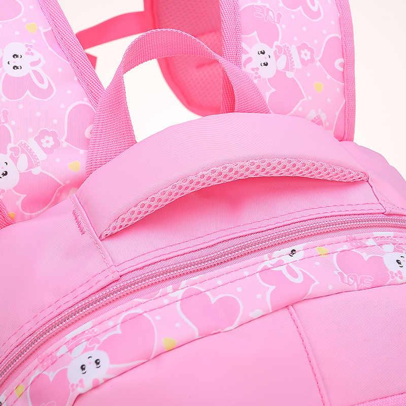 Children School Bags Girls Kids Satchel Primary cartoon backpack princess Orthopedic Backpack schoolbag kids Mochila Infantil