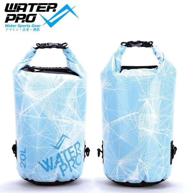 Water Pro 20L Slush Waterproof Dry Bag Camping Kayaking Snorkeling Diving Boating Surfing