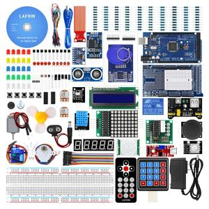 Image 1 - LAFVIN Mega 2560 Project Complete Starter Kit including LCD1602 IIC / Ultrasonic Sensor for Arduino with Tutorial