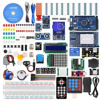 LAFVIN Mega 2560 Arduino Starter Kit including With LCD1602 IIC And Ultrasonic Sensor