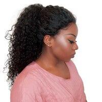 360 Синтетические волосы на кружеве al парик предварительно сорвал с волосами младенца 180% перуанский Вьющиеся Синтетические волосы на кружев