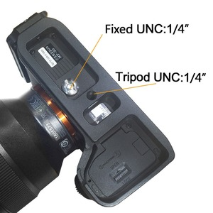 Image 5 - Poignée de support de plaque L à dégagement rapide pour Sony Alpha A9/A7 III/A7R III A7M3 A7RM3 caméra pour tête de trépied Arca Swiss