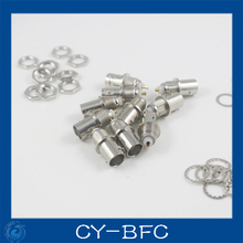 CCTV camera cable connector BNC Female Socket Solder Connectors Chassis Panel Mount Patch Coaxial Cable Monitor Accessories