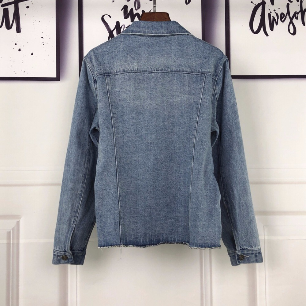 2019 Ddxgz3 Manteau Printemps Denim Mode Femmes Veste x0rAZ08wq