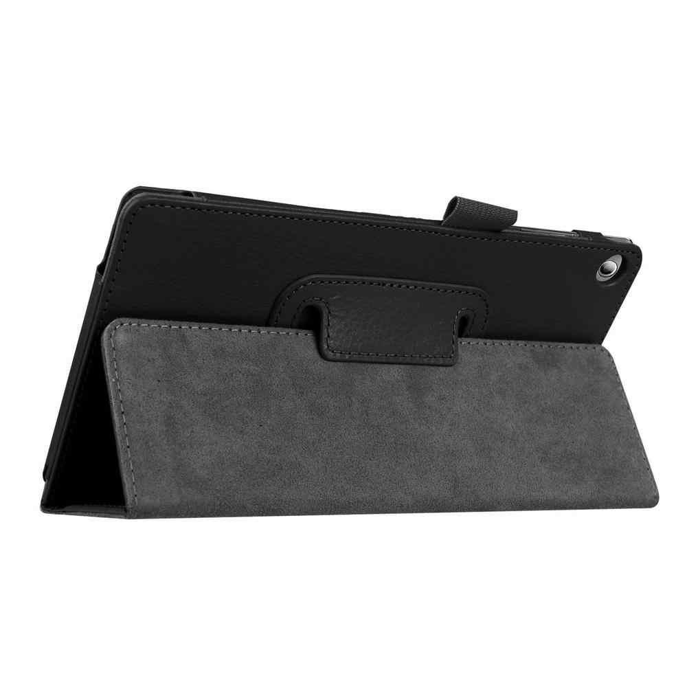 Kılıf kapak için Lenovo Tab 2 A7-10 A7-10F A7-20 A7-20F Tab2 A7 20 10 Tablet kılıfı braketi Flip moda PU deri funda çapa cam