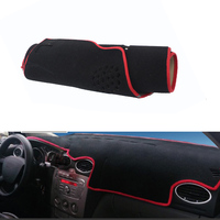 Fit For Focus Classic Car Dashboard Avoid Light Pad Instrument Platform Desk Cover Mat Silicone Non