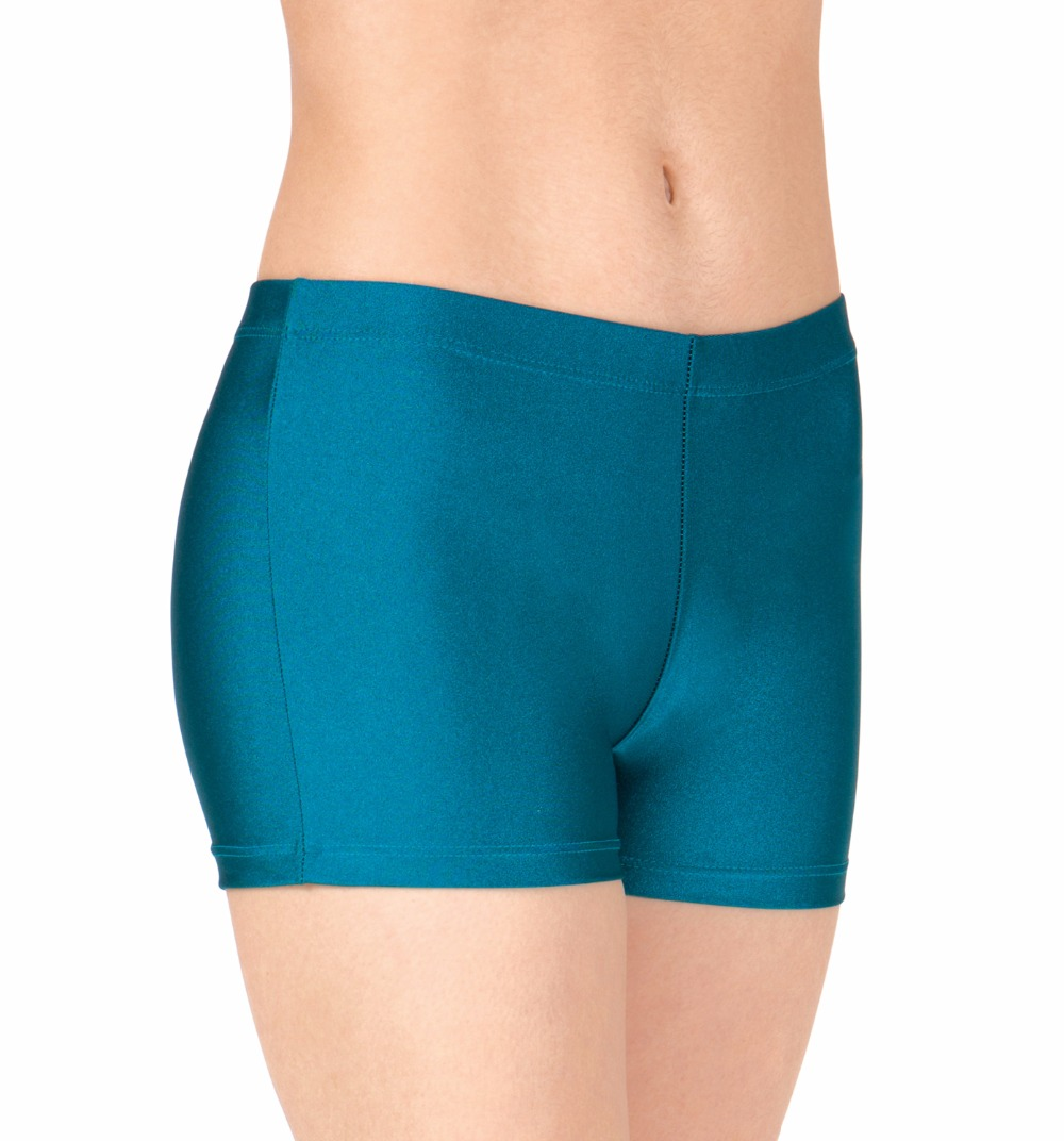 Women's Nylon Lycra Dance Shorts Rave Booty Spandex Girls Dance Hot Shorts Discount Dance Wear Ballroom Shorts