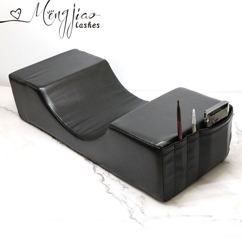 Profesional de pestañas Extensionl almohada soporte injertado las pestañas de memoria de almohada de terciopelo para la extensión de pestañas