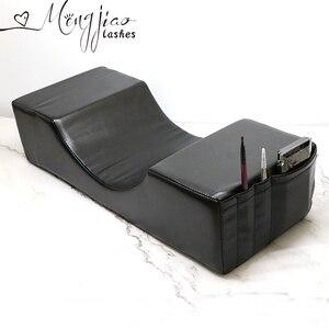 Image 1 - Profesjonalne rzęsy Extensionl poduszka, poduszka stojak szczepione rzęsy do wykorzystania w salonie pamięci aksamitna poduszka do przedłużania rzęs