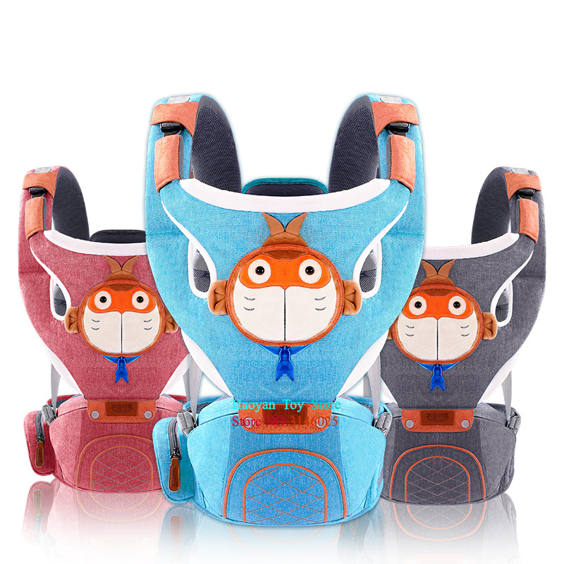 Multifunctional Baby Carrier Waist Stool Walkers Baby Sling Hold Waist Belt Backpack Hip Seat Belt Kids Infant Hip Seat YE0009 2018 new baby carrier 0 30 months breathable comfortable babies kids carrier infant backpack baby hip seat waist stool