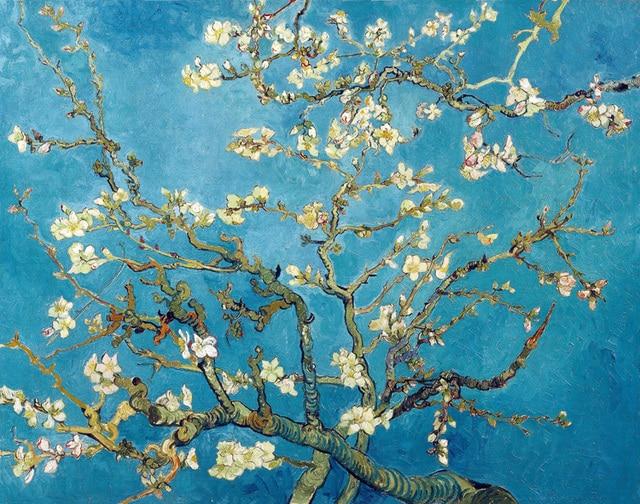 Vincent van Gogh Master Piece Impression Painting Apricot blossom ...