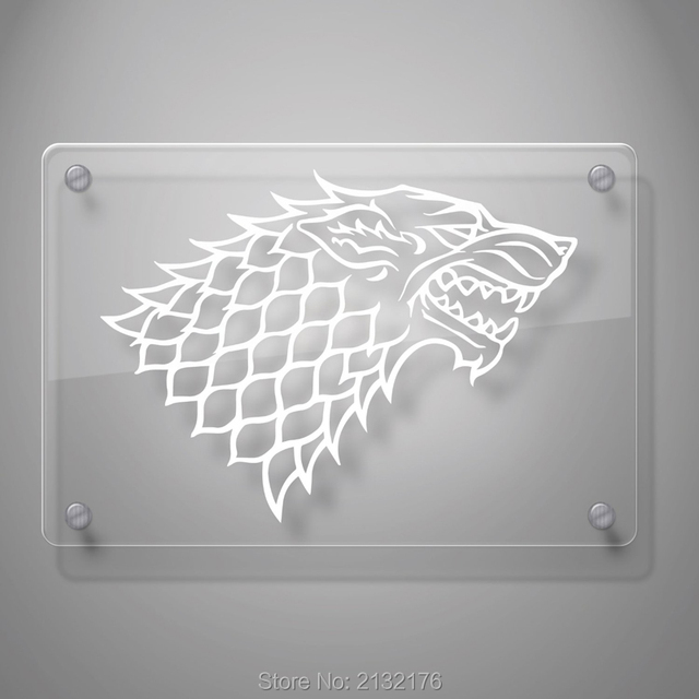 House Stark Decal Sticker for Car Window