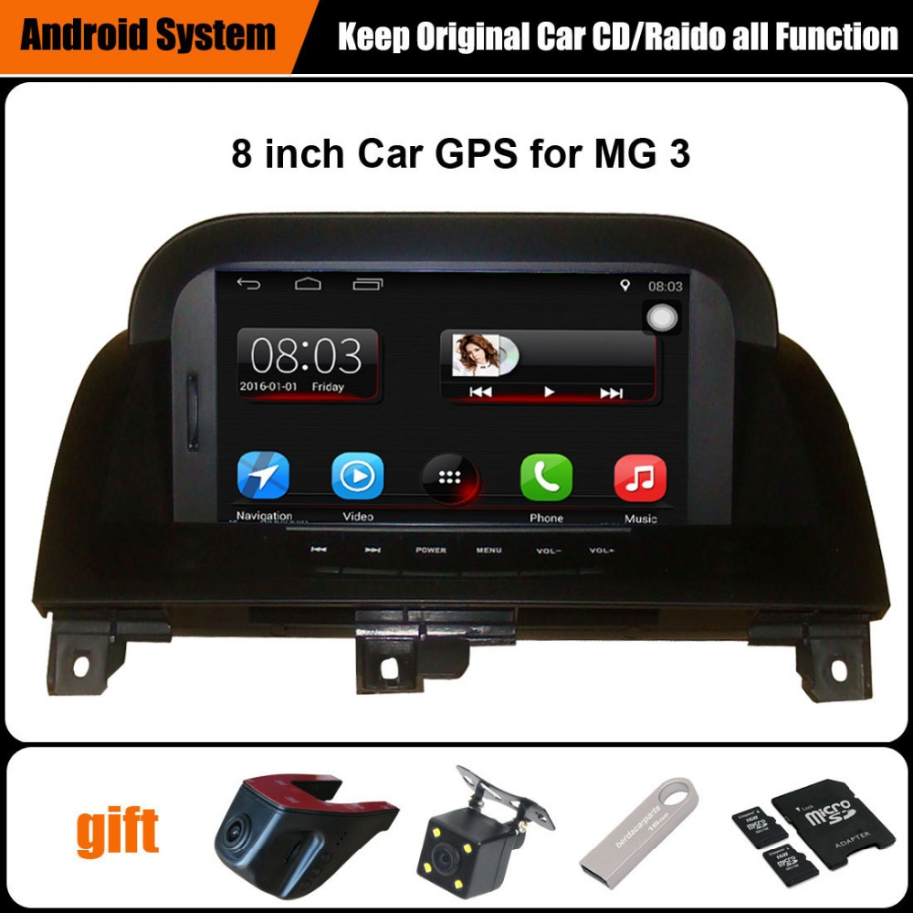 US $345 0 |Upgraded Original Car multimedia Player Car GPS Navigation Suit  to Morris Garages MG3 MG 3 Support WiFi Smartphone Mirror link-in Car
