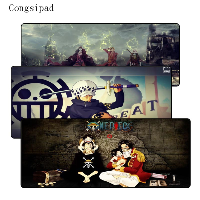 Congsipad One Piece Notbook Computer Mousepad Overlock Edge Big Gaming Padmouse Gamer to Laptop Mouse For CSGO DOTA LOL Gamer image