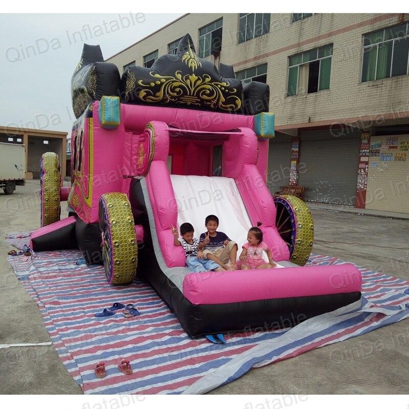 Guangzhou funny Princess castle jumper ,Inflatable princess bouncy castle,Princess style bed