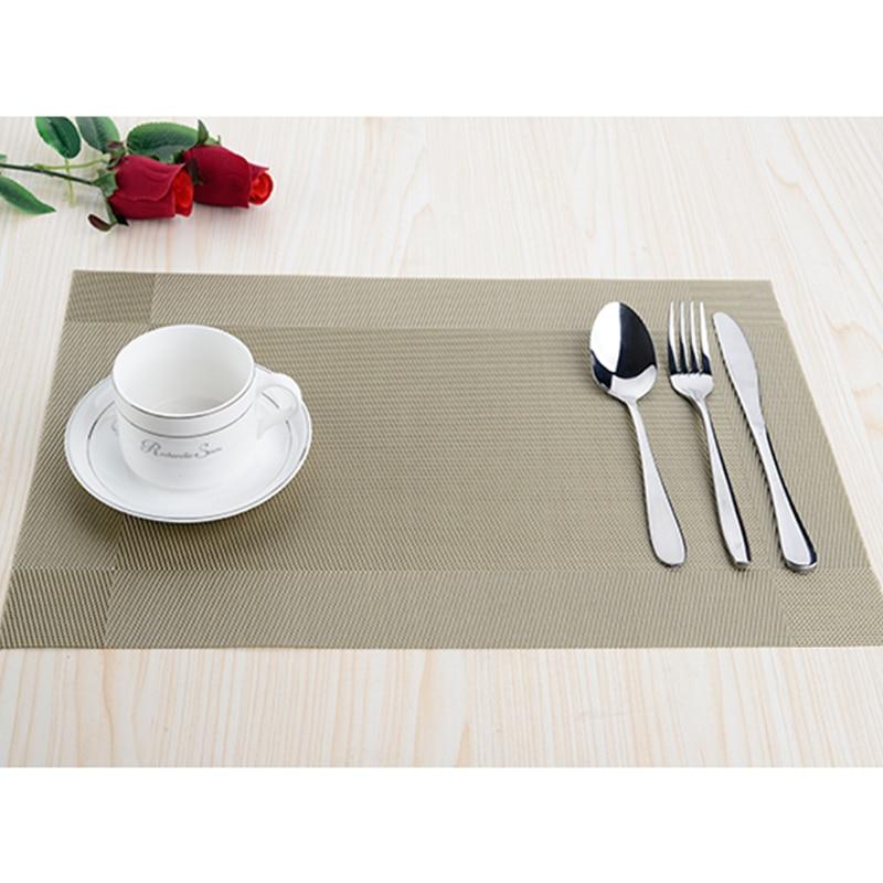 8pcs / lot PVC köksdisplay Placemats för matta manteles - Kök, matsal och bar - Foto 2
