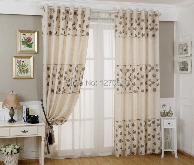 Latest Designs Of Curtains,cotton Linen Curtain Screens