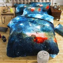 Home textile Personality Nebula Star Three/four-piece set quilt cover Europe and the United States bedding explosion 3d Dream