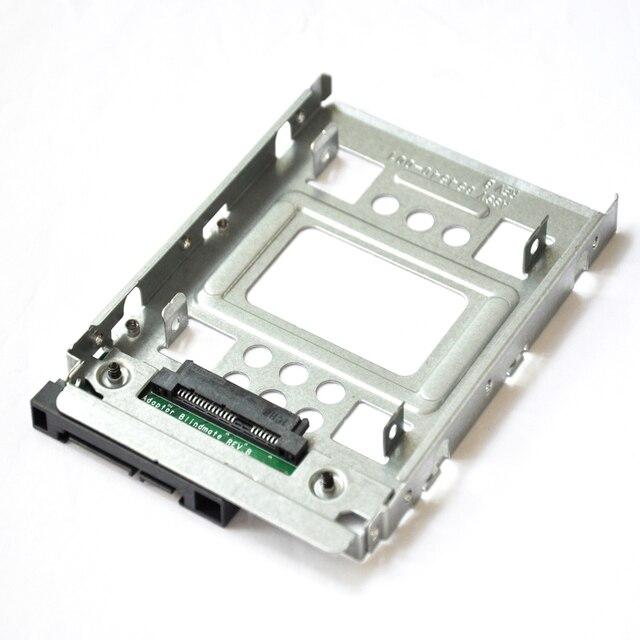 """2.5 """"a 3.5"""" SATA HDD SSD Adattatore del vassoio MicroServer 654540 001 per G10 774026 001 651314 001 Gen8/gen9 N54L N40L N36 x7k8w"""