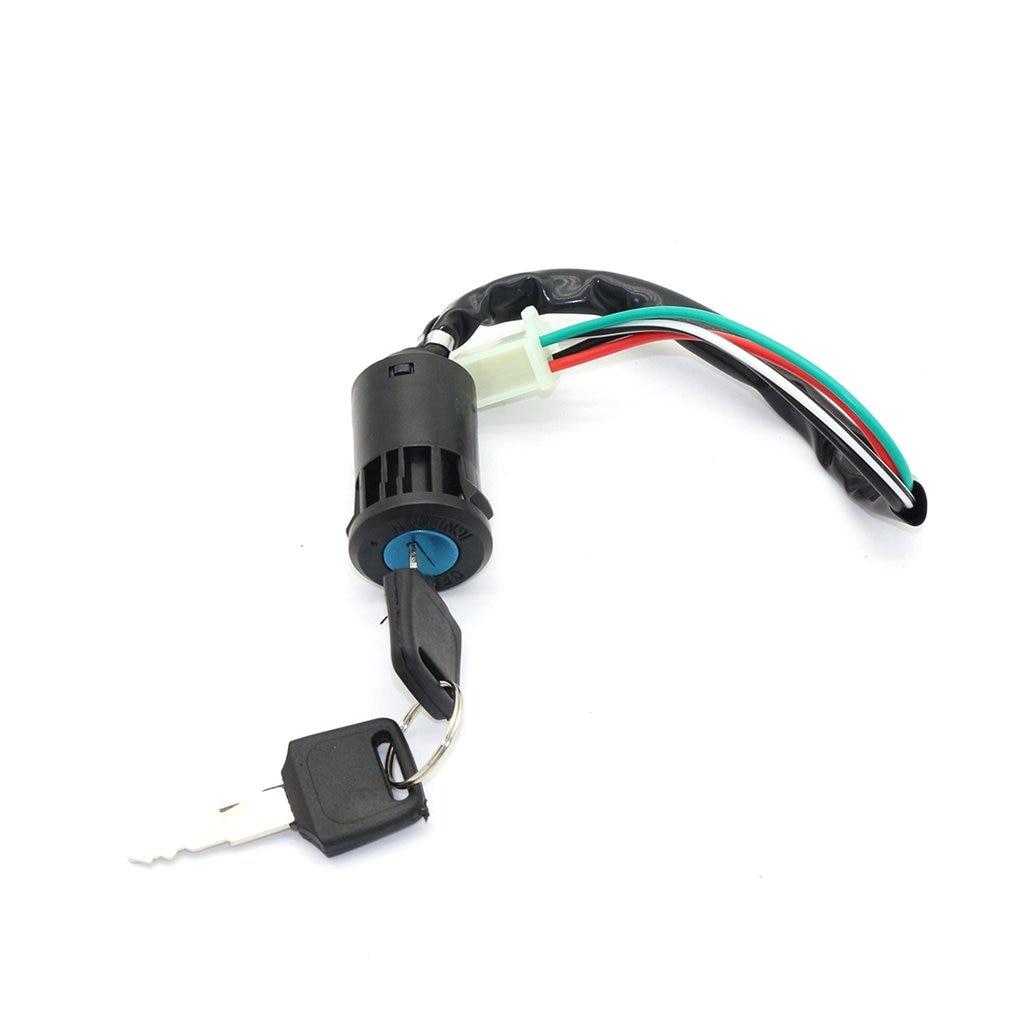 4 провода ключ зажигания Ствол Переключатель для большинства все Quad и велосипеды для езды по бездорожью 50cc 110cc 125cc 250cc боксе Quad Dirt Bike ATV