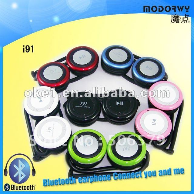 free shipping Mobile Bluetooth Stereo Headphone Support TF Card FM