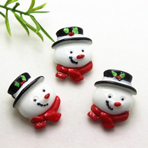 10pcs Very Kawaii Resin Snowma