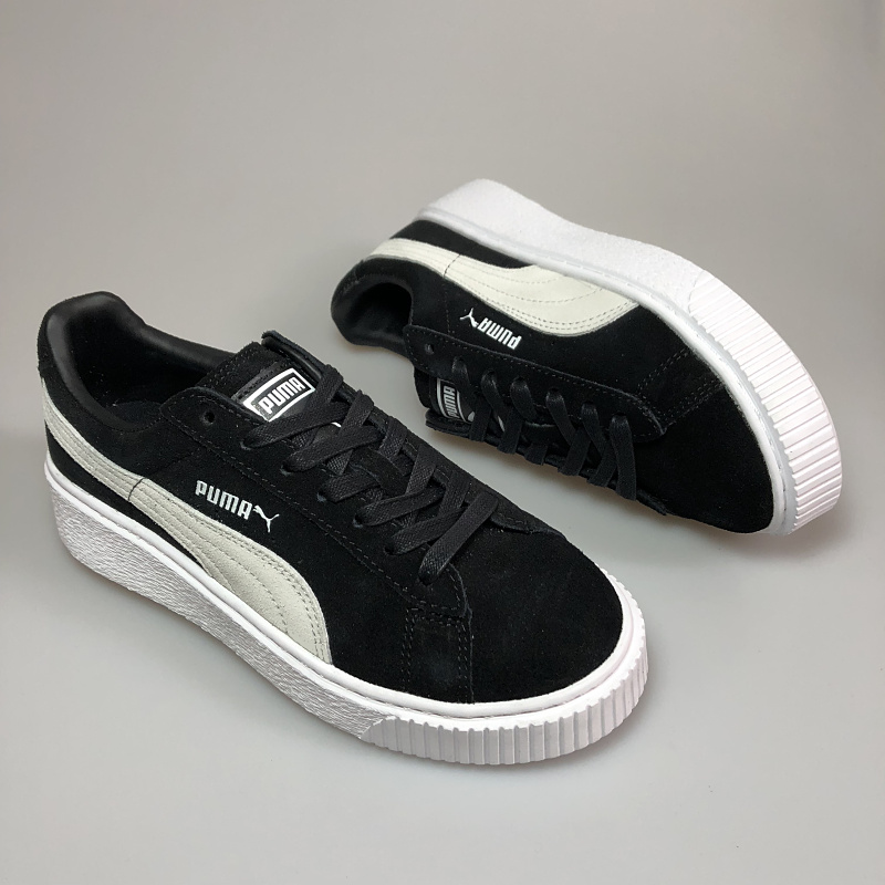 Free shipping Puma by Rihanna Suede Creepers men shoes Breathable Badminton  Shoes Sneakers size 40- 6d54a149d