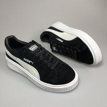 a542b1d10 Frete grátis Puma por Rihanna Trepadeiras Camurça dos homens sapatos  Respirável Sapatos Badminton Tênis tamanho 40-44