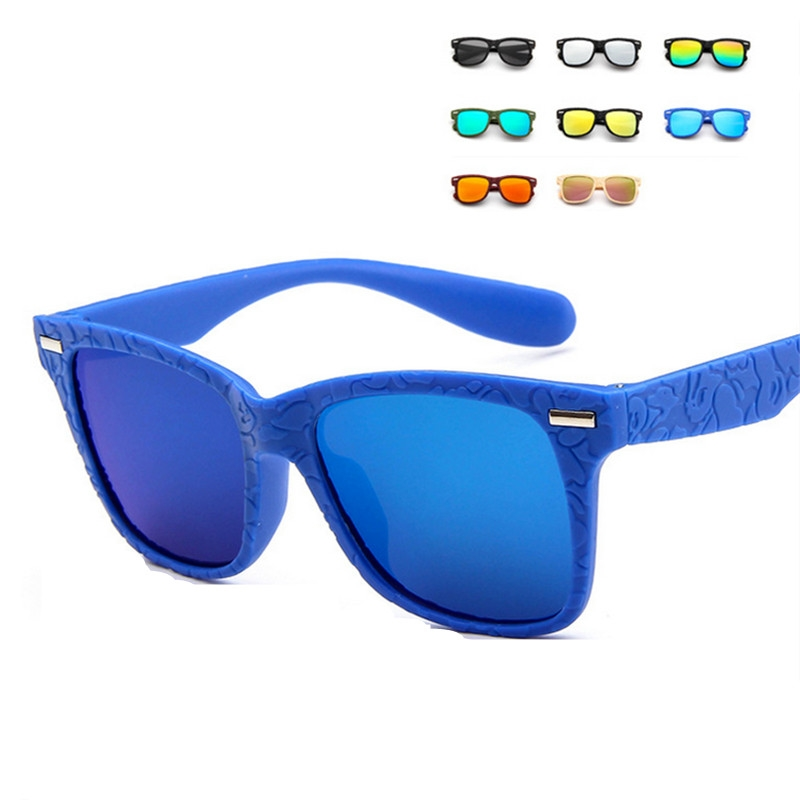 Menino Óculos De Sol De Vidro óculos de Sol Da Moda Bonitos Do Bebê Meninas  Crianças 07722f484c