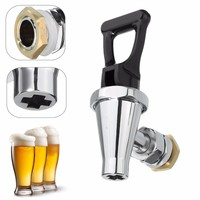 16mm Stainless Steel Valve Tap Faucet For Water Wine Coffee Barrel Beer Drink Dispenser Home Kitchen