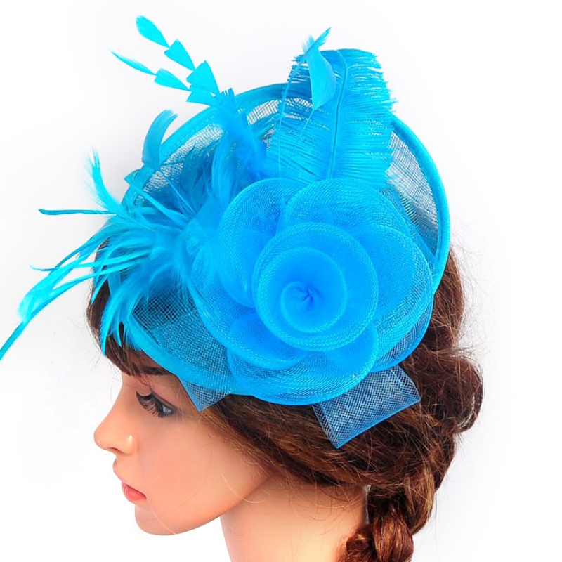 6a3f1a069e0 Elegant Lady Large Headband Aliceband Hat Fascinator Weddings Ladies Day  Race Royal Ascot-in Party Hats from Home   Garden on Aliexpress.com